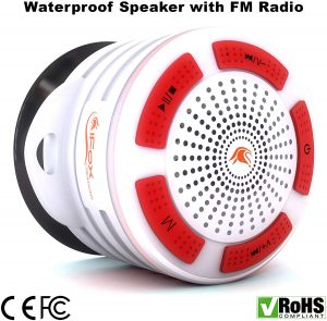 Waterproof Bluetooth Speaker & Shower Radio