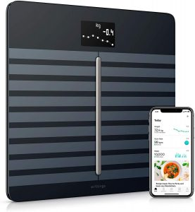 Heart Health & Body Composition Digital Wi-Fi Scale with smartphone app