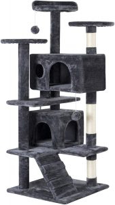 Yaheetech 51in Cat Tree Tower Condo Furniture