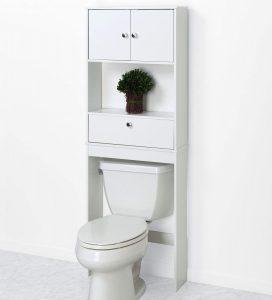 Zenna Home Drop Door Over The Toilet Bathroom Spacesaver