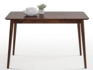 zinus farmhouse wood dining table