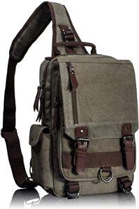 mens cross body sling bag