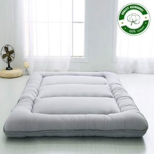 Roll Up Mattress Boys Girls Dormitory Mattress Pad | Kids Floor Lounger Bed Couches and Sofas