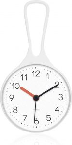 mooas Loop Bathroom Clock, Shower Clock