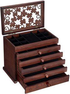 handmade wooden jewelry box
