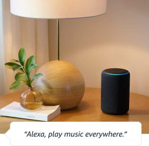 Echo Plus (2nd Gen) - Premium sound with built-in smart home hub work with Alexa speaker