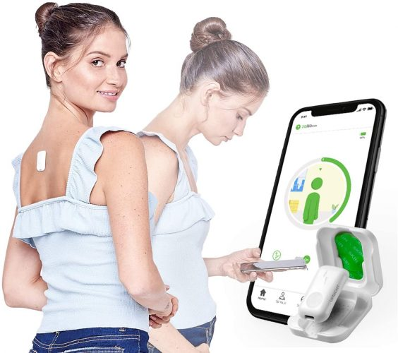 Upright GO 2 NEW Posture Trainer and Body Wellness Posture Corrector for Back