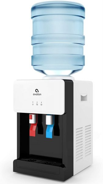 A Child Safety Lock With Avalon Premium Countertop Water Dispenser