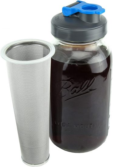 Cold Brew Mason Jar Coffee Maker by County Line Kitchen
