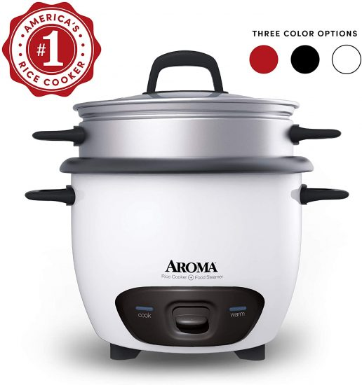 Aroma Housewares Pot Style Rice Cooker and Food Steamer
