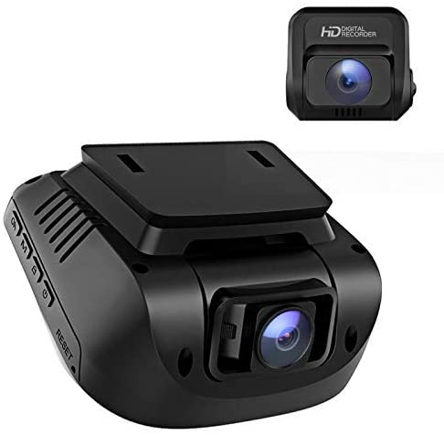 Dual 1080 Dash Cam For Cars With GPS Option