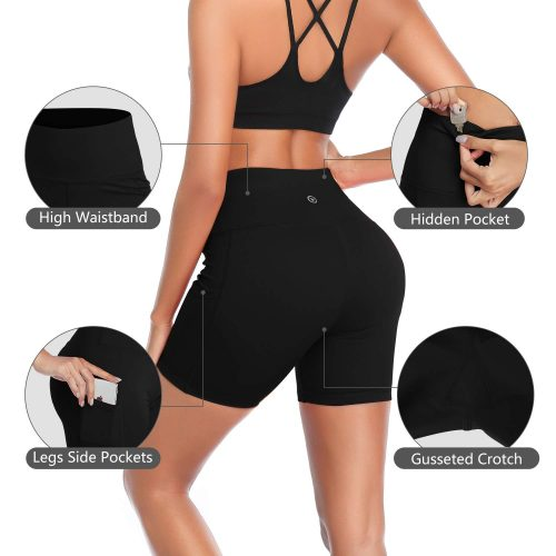 DAYOUNG Non See-Through Sport Leggings for Women