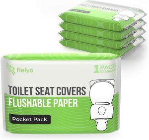 flushable toilet seat covers