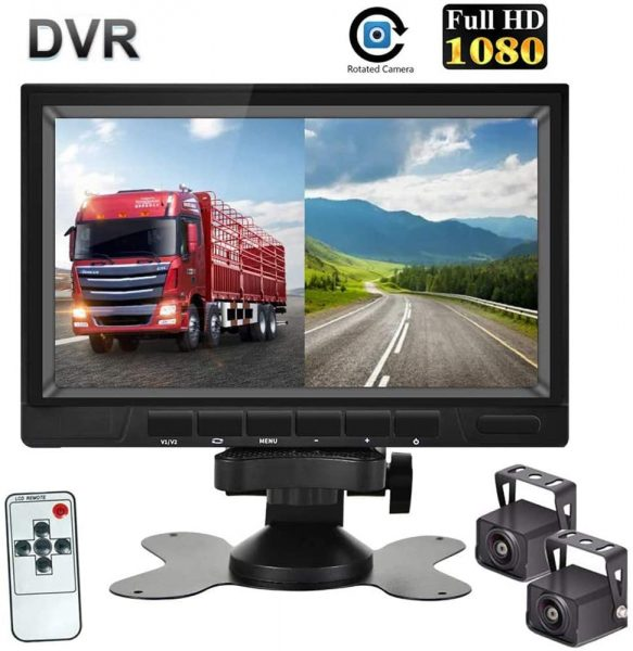 HD Camera System For 7 Inches With HD 1080p, Ideal For A Backup Camera Of Trucks, Bus, Camper