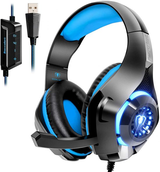 Beexcellent Comes With A USB Gaming Headset For Mac, PC