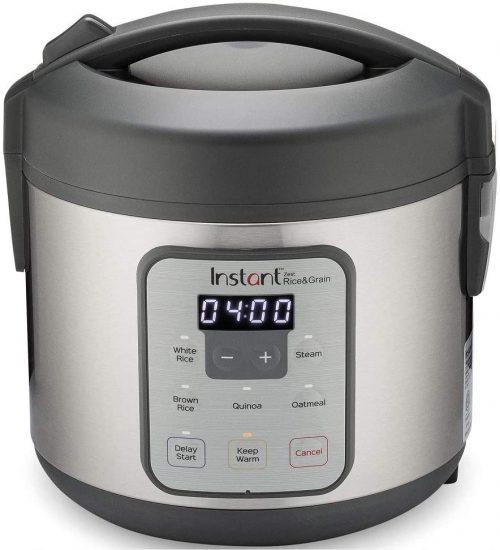 Instant Zest Rice Cooker, Steamer