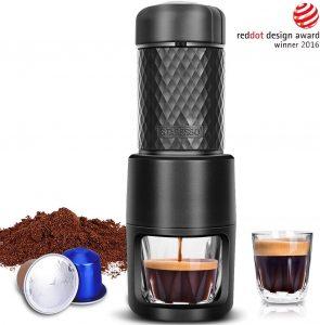 Portable Espresso Machine By STARESSO