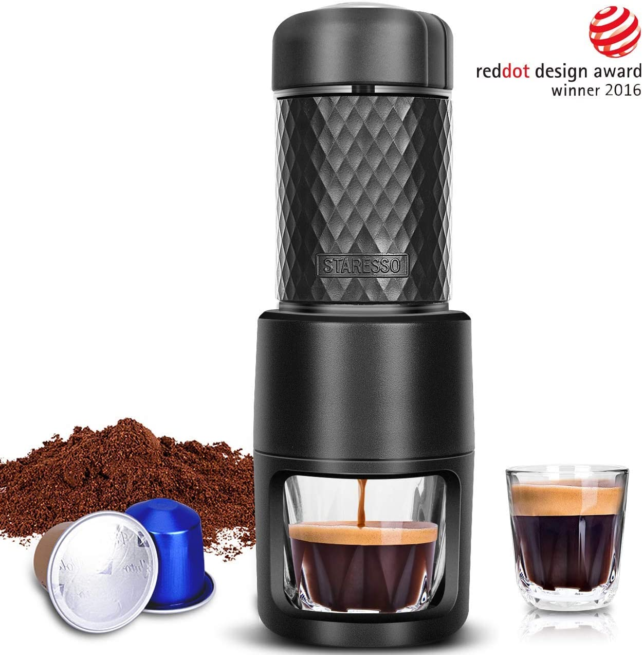 Portable Espresso Machine By STARESSO