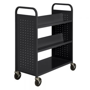 Double-Sided With 6 Shelves From Sandusky Lee