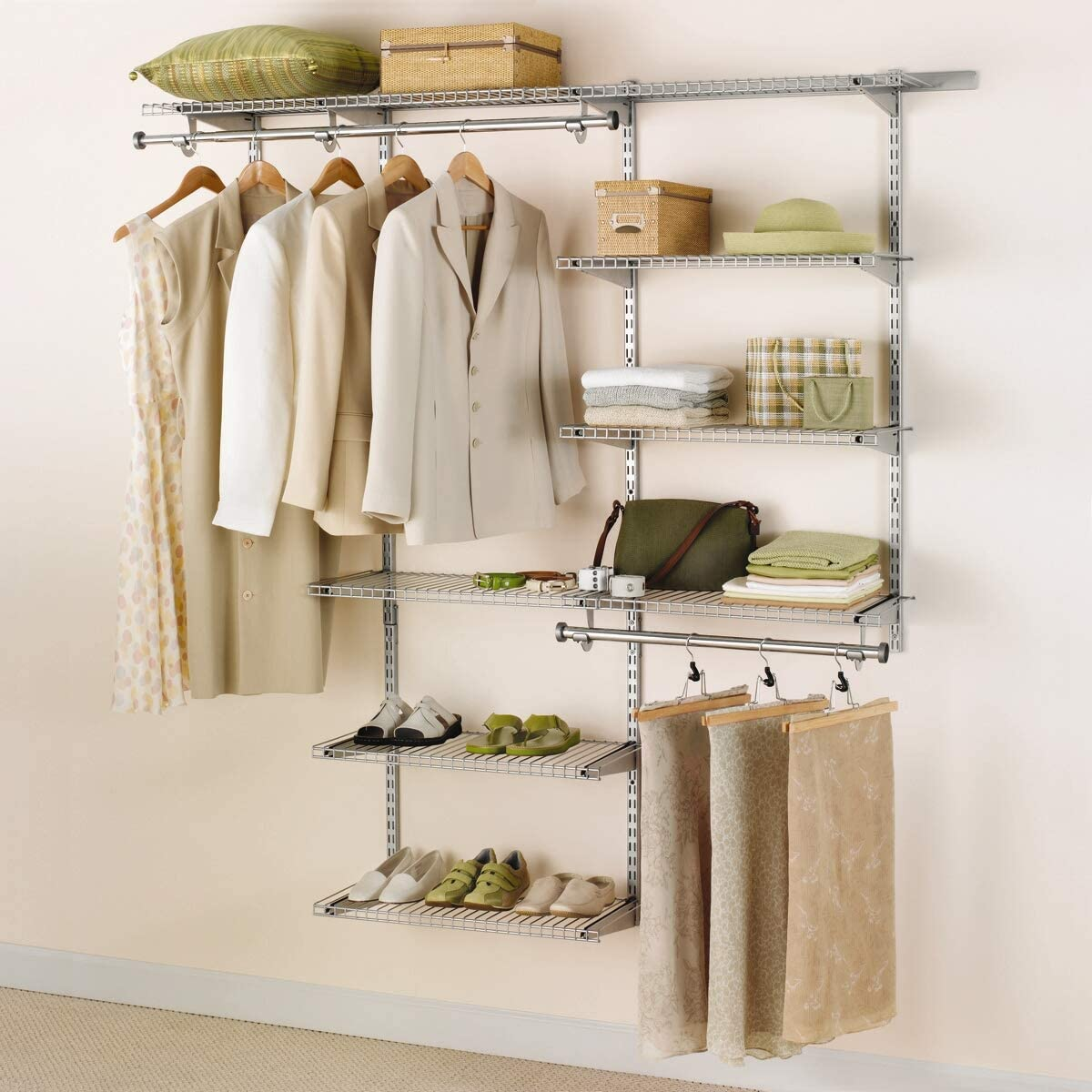 Delux Closet Wardrobes - Fashionable Rubbermaid Armoires