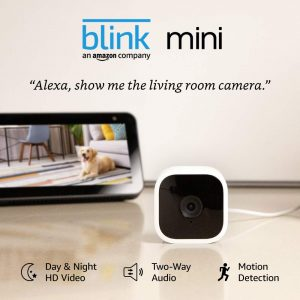 Blink Mini Smart Home Cameras Indoor