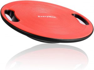 EveryMile Balance Board Standing Desk With A Non-Slip Textured Surface