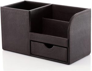 Leather Desk Organizer offered from Kingfom