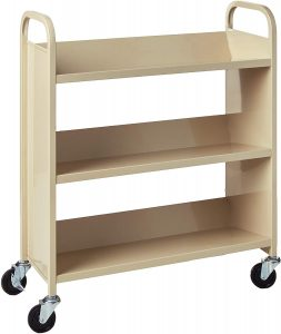 Sing Sided Library Cart From Safco