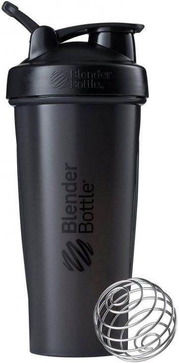 Blender Bottle Shaker Bottle, 28-Ounce, Black