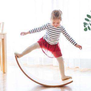 Wooden Wobble Best Balance Board