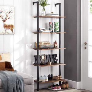 5-Tier Bookcase For Home Office From Homfa