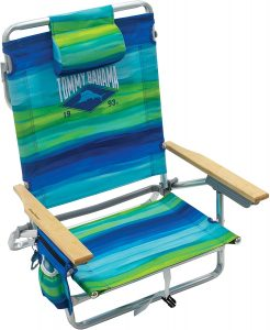 Tommy Bahama Backpack Chair Combo With 5-Reclining Positions