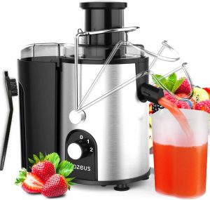 AZEUS Juice Extractor With The Included Brush