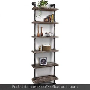 Bookshelf With 6 Tier Form WGX Design