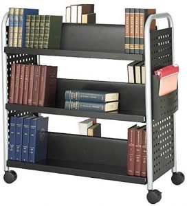 Double-Sided Book Carts