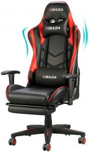 Hbada Reclining Gaming Chair Reviews, Height Adjustment, High Back Chair For Computer