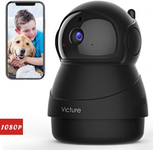 Victure Smart Home Camera Indoor For A Pet With Night Vision