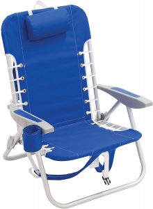 RIO Best Backpack Beach Chair With 4 Positions