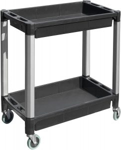 MaxWorks 80384 Sleek Service Cart