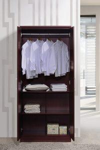 Hodedah Twin Door Armoires & Wardrobes