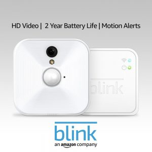 Smart Home Camera Indoor By Blink With A 2-Year Warranty