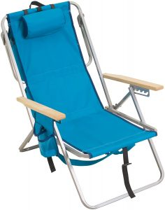 RIO Brands Gear Backpack Chair Combo With 5 Reclining Positions