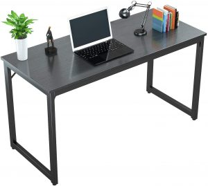 Natural Wooden Computer Desk from Foxemart
