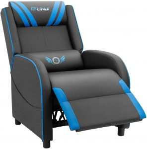 JUMMICO Gaming Reclining Gaming Chair For Living Room, Bedroom, Gaming Room
