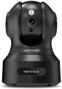 TETHYS Smart Home Camera Indoor With 1080P