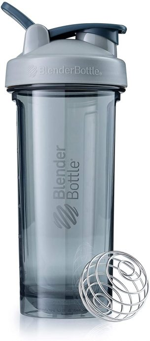 Pro Series Shaker Blender Bottle, 28-Ounce, Pebble Grey