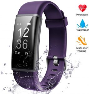 A Heart Rate Monitor With Digital Water By Lintelek Fitness Tracker