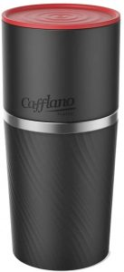 Cafflano Klassic With A Portable Espresso Maker Kickstarter
