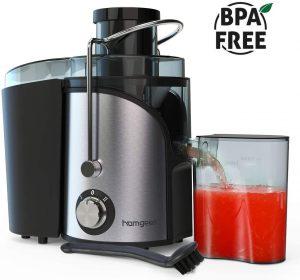 Homgeek Juice Extractor With Stainless Steel