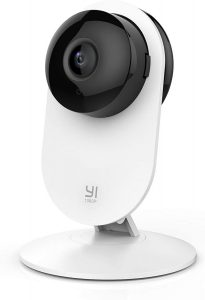 A Night Vision Of Home Security Camera By YI 1080p